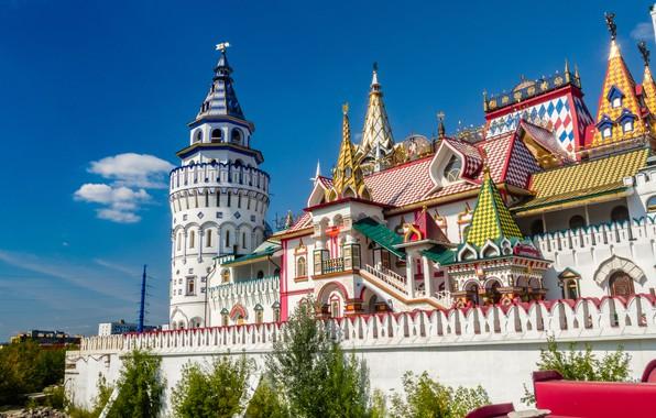 Picture Moscow, Russia, architecture, Izmailovo, The Izmailovo Kremlin