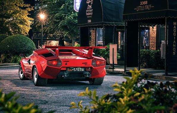 Picture Auto, Lamborghini, Machine, Red, Car, Countach, Rendering, Retro, Supercar, Sportcar, Transport & Vehicles, Lamborghini Countach …