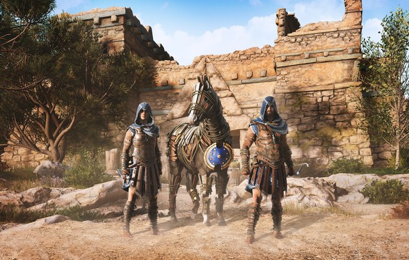 Picture game, Ubisoft, Assassin's Creed, Odyssey, Assassin's Creed Odyssey