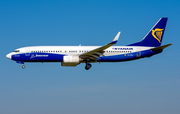 Picture Boeing, 737-800W, Ryanair