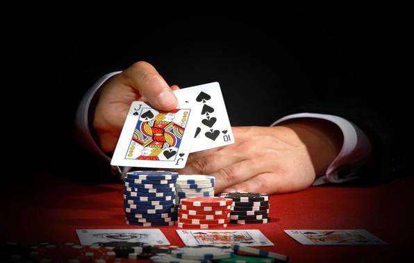 Picture card, poker, casino, win