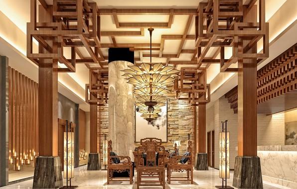 Picture design, style, furniture, interior, design, style, the hotel, hotel, hall, room, interior, hall