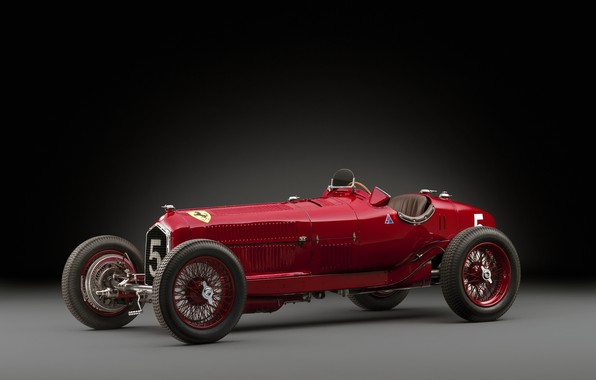 Picture Spokes, Alfa Romeo, Classic, Scuderia Ferrari, 1932, Grand Prix, Classic car, Sports car, Alfa Romeo …