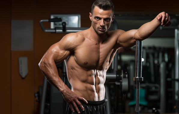Picture look, pose, fitness, muscle, muscle, press, athlete, simulators, gym, fitness, gym, bodybuilder, abs, bodybuilder