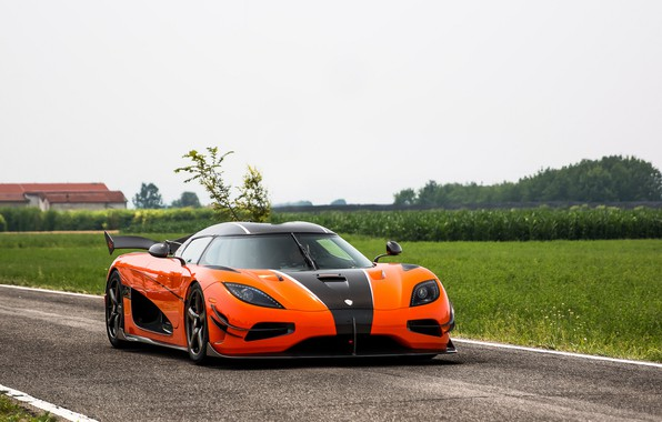 Picture Koenigsegg, Orange, Agera