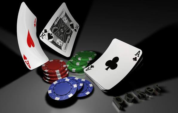 Picture card, poker, casino