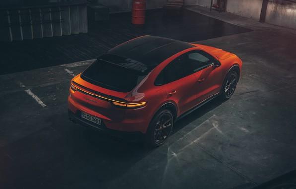 Picture Porsche, Coupe, Cut, Cayenne Turbo, 2019
