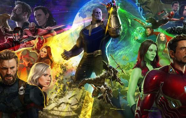 Picture marvel, avengers, avengers infinity war