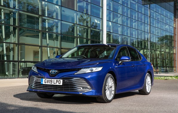 Picture auto, the city, photo, Toyota, Hybrid, Camry, 2019