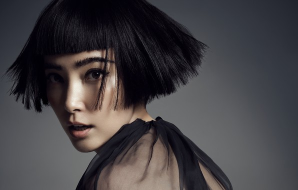 Picture look, pose, makeup, actress, with short hair, hair, look, pose, actress, makeup, Li Bingbing, Li …