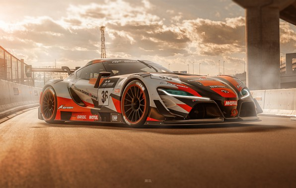 Picture Auto, Machine, Toyota, Art, Toyota FT-1, Game Art, Gran Turismo Sport, Transport & Vehicles, by …