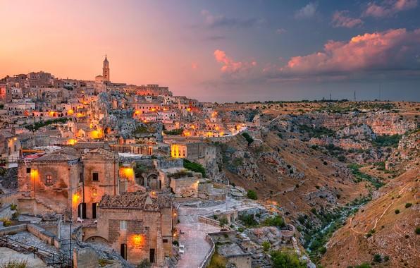 Picture building, home, Italy, Italy, Matera, Basilicata, Mater, Basilicata