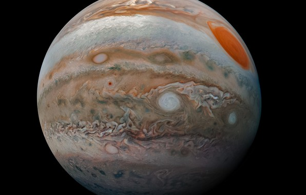 Picture space, planet, Jupiter