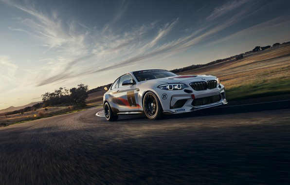 Picture BMW, BMW, sports coupe, racing car, 2020, BMW M2 CS Racing