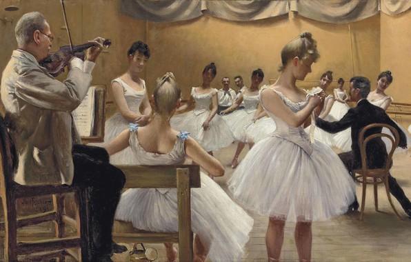 Picture 1889, Danish painter, Copenhagen, Copenhagen, Danish painter, Paul Gustav Fischer, Paul Gustav Fischer, The Royal …