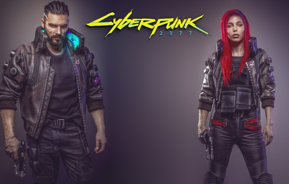 Picture Girl, The game, Art, Male, Cyborg, CD Projekt RED, Cyberpunk 2077, Cyberpunk, Cyberpunk, Cyberpunk 2077, …