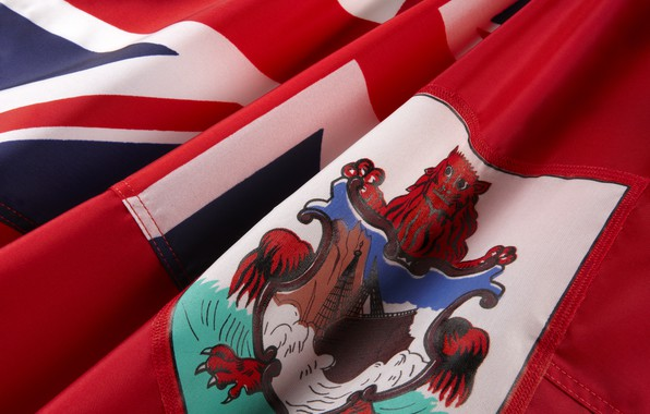 Picture flag, coat of arms, fon, flag, coat of arms, Bermuda, Bermuda, Bermuda, bermuda, Bermuda, Bermuda