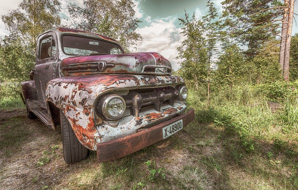 Picture Ford, old, car