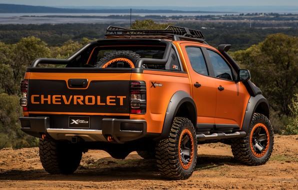Picture Chevrolet, rear view, pickup, 4x4, Colorado, Z71, 2016, Xtreme Concept