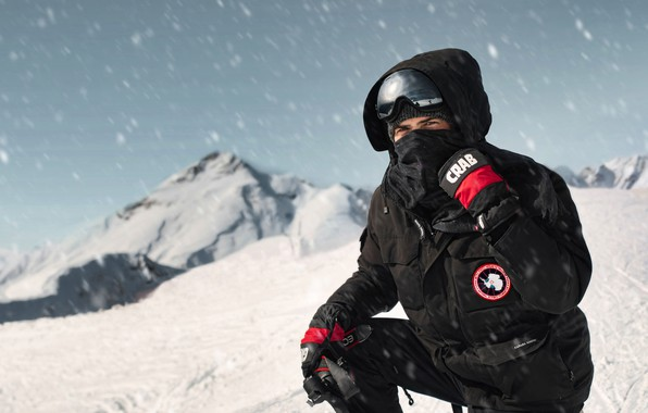 Picture snow, mountains, storm, Artem Revutsky, Artem Revutsky, canada goose, 2320 meters