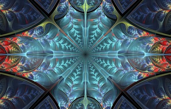 Picture pattern, fractal, symmetry
