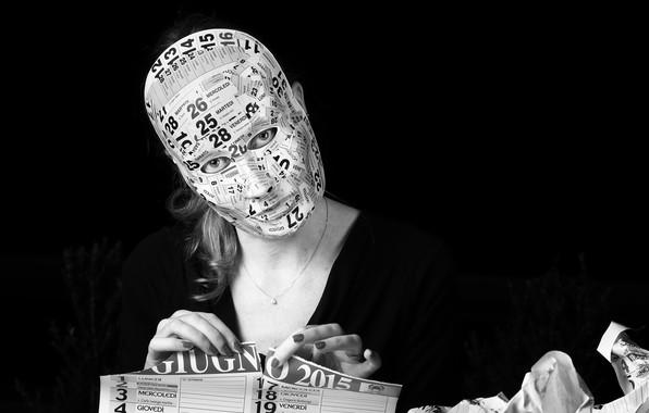 Picture people, portrait, mask