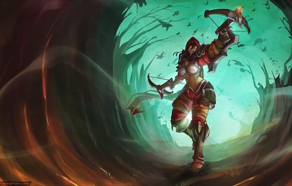 Picture Blizzard, Art, Diablo 3, Diablo, Valla, Demon Hunters, Nephalem, Vengeance Incarnate, Westmarch, Atryl, by Atryl