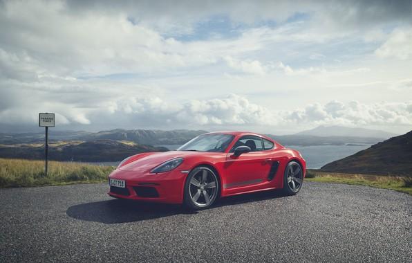 Picture Porsche, Cayman, 718, 2019, Porsche 718 Cayman T 2019