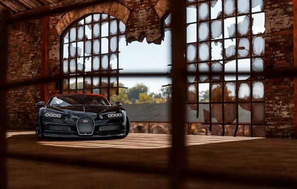 Picture Bugatti, Light, VAG, Forza, Sight, Chiron, Horizon 4, 16/4