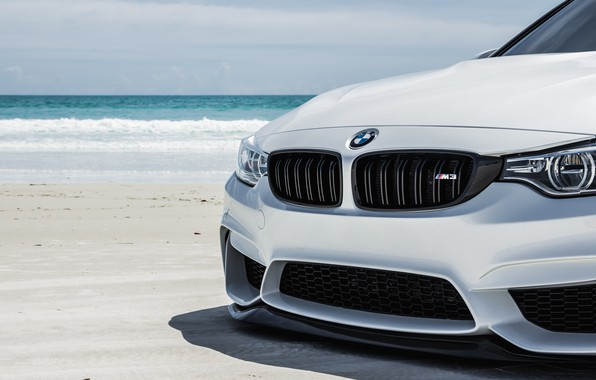 Picture BMW, Water, White, Wave, F80, Sight