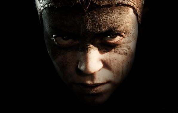 Picture look, the game, portrait, Hellblade: Senua's Sacrifice