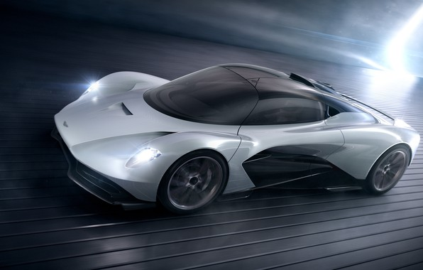 Picture machine, movement, Aston Martin, lights, concept, drives, Valhalla, AM-RB 003