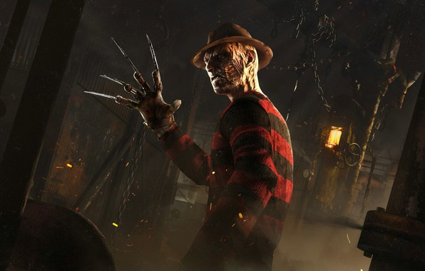 Picture Nightmare, Freddy Krueger, A nightmare on elm street, Freddy Krueger, survival horror, Dead By Daylight, …