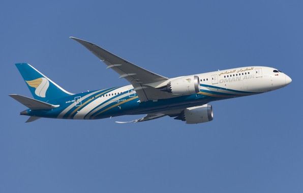 Picture Boeing, Oman Air, 787-8