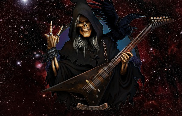 Picture Guitar, Death, Rock