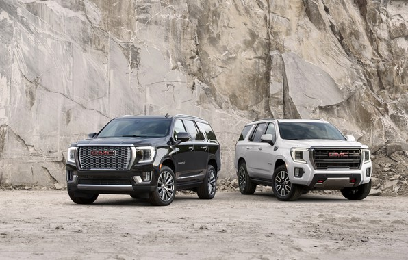 Picture rock, GMC, SUV, Denali, Yukon, AT4, 2020, 2021
