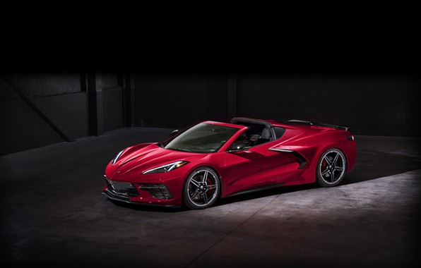 Picture Corvette, Chevrolet, Wheel, Lights, Drives, Stingray, Sports car, 2020, Chevrolet Corvette ( C8 ) Stingray