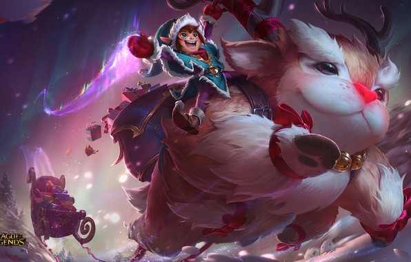Picture League of Legends, Snowday, B, Willump