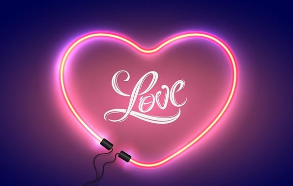 Picture light, love, romance, heart, love, happy, heart, Valentine's Day