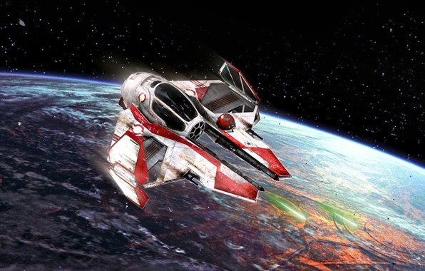 Picture Star Wars, Coruscant, type, light interceptor, Actis, This-2, Republican, Jedi