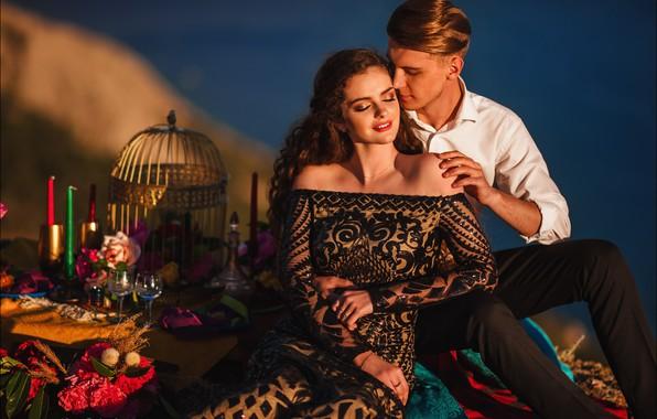 Picture girl, mood, guy, lovers, Alex Lett, Taisiya Kukharenko