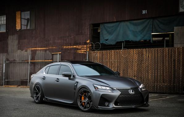 Picture Lexus, Japan, Gray, Sight, GS-F