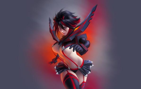 Picture Kill La Kill, anime girl, matoi ryuko
