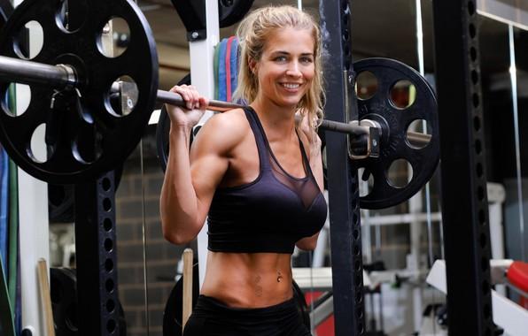 Picture pose, figure, actress, Gemma Atkinson, Gemma Atkinson, fitness, iron, rod, iron, training, fitness, gym, training, …