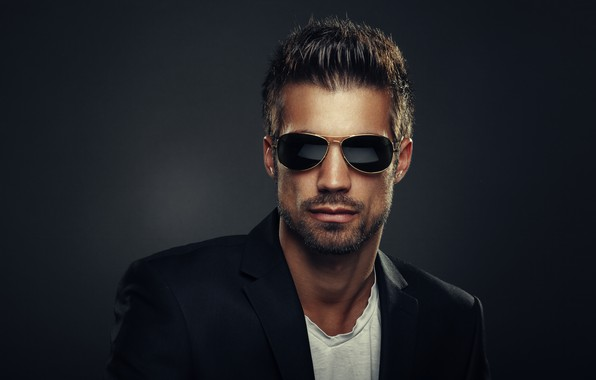 Picture style, glasses, hairstyle, male, man, Fashion
