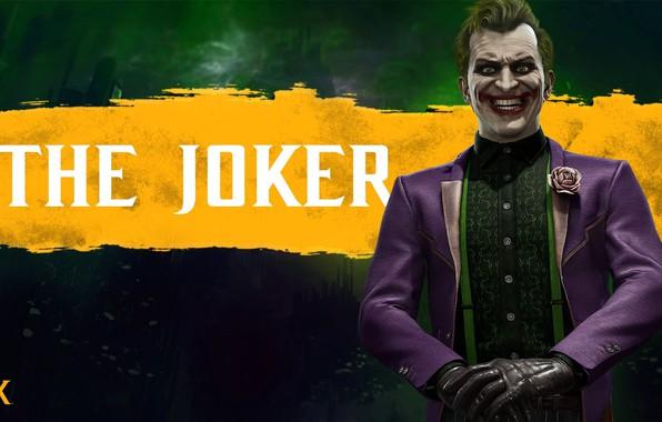 Picture Joker, fighter, character, The Joker, Mortal Kombat 11, Mortal Kombat 11