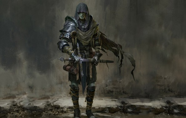 Picture Sword, Hood, Death Knight, Russell Dongjun Lu, Penitent Knight, The Penitent Knight, Russell Duncton Lou