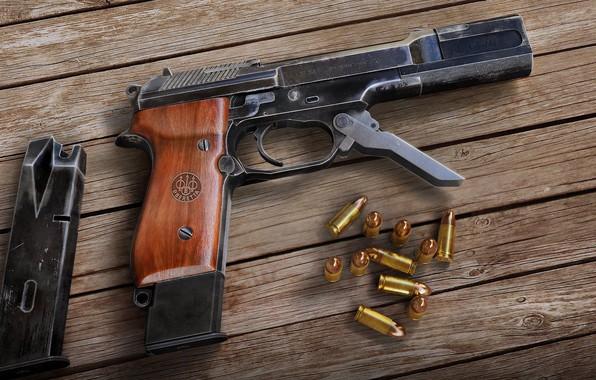Picture rendering, gun, gun, render, Beretta, Beretta, Beretta 93R, 93R, Beretta 93Р, 93Р