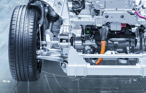 Picture mechanism, vehicle, engineering