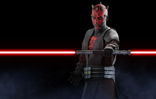 Picture Star Wars, Darth Maul, lightsaber, sith, Battlefront 2
